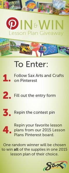 Sax Pin & Pin Lesson Plan Giveaway runs: August A random winner will be chosen September High School Art, Middle School Art, Art Lessons Elementary, Lessons For Kids, Art Curriculum, Art Lesson Plans, Art Classroom, Teaching Art, Art Education