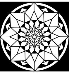 From: Kaleidoscope Designs Stained Glass Coloring Book