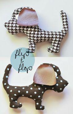 brown bobbin: DIY : simple plushie pup