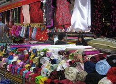 South Bund Fabric Market     Address: South Bund Soft-Spinning Fabric Market (aka Shanghai Fabric Market), 399 Lujiabang Lu, near Zhongshan Nan Lu     Opening Hours: 9am-6:30pm     Transportation: Metro Line No.4 to Nanpu Bridge