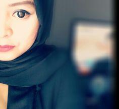 Ootd black its black hijab