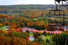 Boyne Highlands golf and ski area. Boyne USA is the largest family owned ski conglomerates in the world.