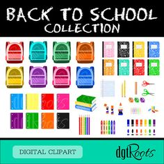 Back to School Clip Art Collection