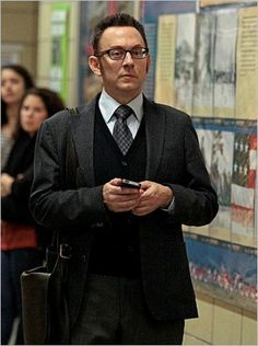 Photos from episode 2.11 of Person of Interest. Looking very dapper, Mr. Finch.