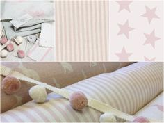 Peony and Sage Fabrics and wallpapers for little girls x