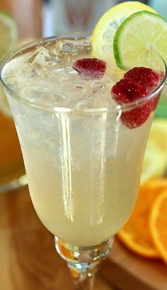 Vodka and Limoncello Sangria