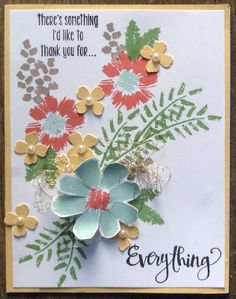 Image result for stamping up bigz l fun flowers cherry blossom