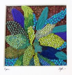 Eleanor Pigman: Commissioned Seed Bead Agave