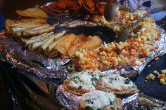 Quesadillas de papa, sopes y más!! Comida como esta no hay dos!! En la Ciudad de México :)