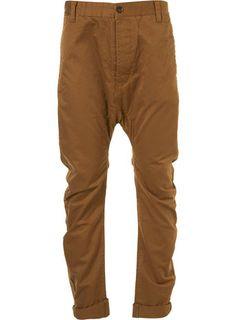 Mustard Cotton Arc Leg Chinos    £44 #top_shop #top_men