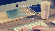 How to use Online Webinars for your Network Marketing business  Join the free training here: http://www.barbarajunetaylor.com/webinar-recruiting-mini-guide