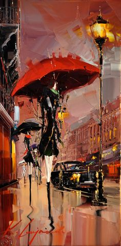 "Kal Gajoum, ""The Umbrella Scene"""