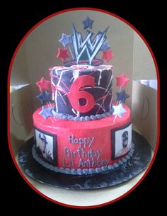 Wwe cake #sueberry