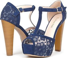 """Comfortable & Romantic 5"""" Heels in 10+ Colors for $16.50 - $20.00"""