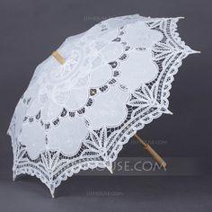 [US$ 19.89] Unique Cotton Wedding Umbrellas (124041502)