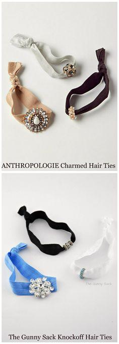 Anthropologie Knockoff Charmed Hair Ties