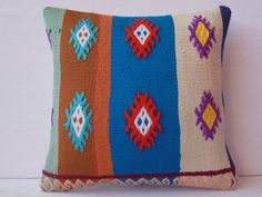 40 YOLD VINTAGE Home Decor  Turkish Kilim Pillow cover by DECOLIC, $45.00