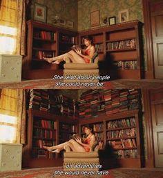 — Она читала о людях,которыми никогда не станет,и о приключениях,в которых никогда не побывает. Мертвые до востребования