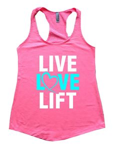 LIve+Love+Lift+Women's+Workout+Tank+Top+Womens+tank+by+aneoutdoors,+$14.95