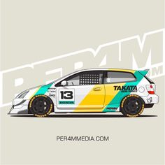 Honda Civic Hatchback, Honda Civic Si, Tuner Cars, Jdm Cars, Car Folie, Corsa Wind, Car Iphone Wallpaper, Racing Car Design, Car Drawings