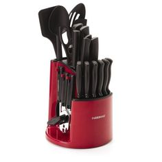 Farberware 30 PC Spin & Store Cutlery Set All Essentials For Quick Preparation  #Farberware