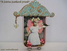 A Fairy & Her Feathered Friend by an AlTeReD FaIrY TaLe, via Flickr