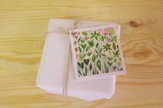 Set of 5 Mini Gift Card 'Ode to Grannies Garden by Strongsoutherly