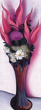 Pink Spirea 1920 - O'Keeffe