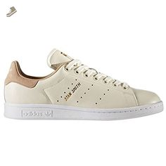 adidas Superstar W, Basses Femme - - White Pink BB4307,