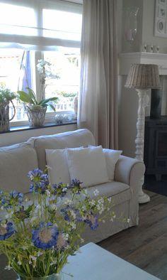 Living room Tamara Jonker landelijke woonkamer