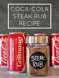 Coca-Cola Steak Marinade or Rub Recipe for Father's Day:  Child at Heart #shareyoursummer #ad  @cocacola @walmart