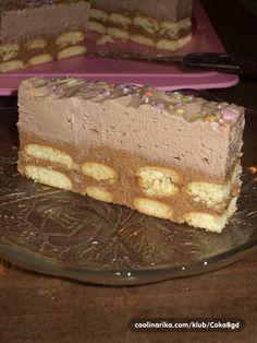 Torte Recepti, Kolaci I Torte, Sweet Recipes, Cake Recipes, Dessert Recipes, Torte Cake, Croatian Recipes, Cheesecake Cake, Special Recipes