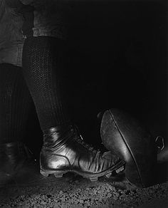 Harold Edgerton, Football Kick, 1934, printed later, gift of the Harold and Esther Edgerton Family Foundation