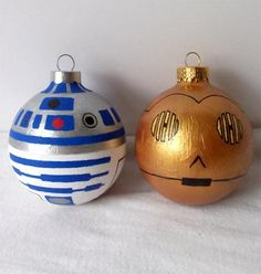 Star Wars ornaments - totally want to make these!!!
