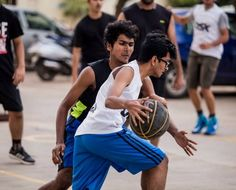 Freshers Vs. Seniors – Friendly Matches '15-    Basketball_match
