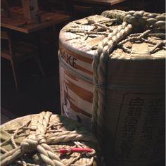 酒樽 sake barrels