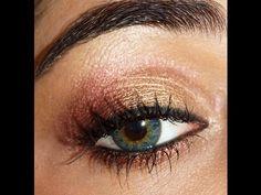 Soft Gold-Berry Eye makeup Tutorial   corallista