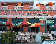 Outdoor cafes - Pier Park, Panama City Beach, Florida