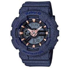 42f484b31e79 Casio Baby-G Resin Band BA-110DE-2A1 Blue Women s Watch Relojes