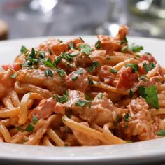 One Top Lobster Pasta // #pasta #lobster #onepot #dinner #food #tasty