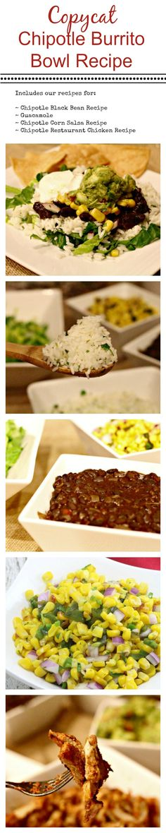 Copycat Chipotle Burrito Bowl Recipe - so tasty and much cheaper to do at home