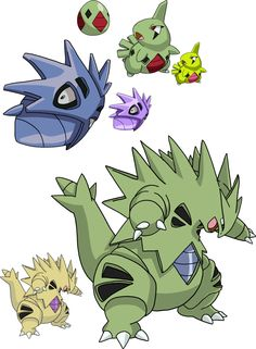 My artwork for Larvitar, Pupitar, Tyranitar, and Mega Tyranitar hope you all like! I know Mega Tyranitar is differently coloured to Tyranitar In th. 247 and 248 - Larvitar Evolutionary Line Pokemon Comics, Cute Pokemon, Pokemon Go, Pikachu, American Dragon, Eevee Evolutions, Mythical Creatures, Sailor Moon, Character Art