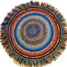 Textile art from Ghana made with recycled batik and wax print cloth and plastic bags http://g-lishfoundation.org