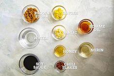 Homemade Teriyaki Sauce - Chili Pepper Madness Teriyaki Sauce Ingredients, Sticky Chicken Wings, Fish Recipes, Steak Recipes, Asian Recipes, Chicken Recipes, Easy Chinese Recipes, Brown Sauce