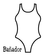 or two a swimsuit with two parts