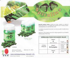 herbal candy spirulina DXN