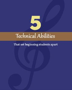 5 Ways Beginning Piano Students Can Sound Better… Faster (the 5 technical abilities you should focus on with your young students) #pianoteaching #pianolessons #pianostudio