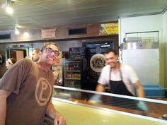 Me and Aaron Franklin, Franklin's BBQ Austin, TX
