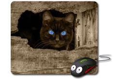 Cat Mouse mat funny pet gift Computer Mouse Pad Cat mousepad Cool Mouse pad cat…