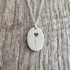 The Mouse Balloon Necklace - Sterling Silver Mickey Mouse Handmade Pendant by HeavyMetalzStudio on Etsy https://www.etsy.com/listing/223521524/the-mouse-balloon-necklace-sterling